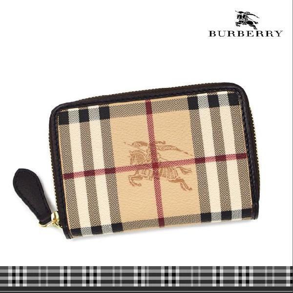 half off bb790 91018 バーバリー 財布 二つ折り 二つ折り財布 ラウンドファスナー メンズ レディース ブランド 人気 ベージュ クラシックチェック BURBERRY