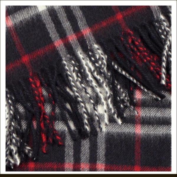 送料無料 バーバリー マフラー カシミヤ レディース かわいい マフラー メンズ ブランド チェック BURBERRY ストール 大判 カシミア 正規品 ネイビー|salada-bowl|02