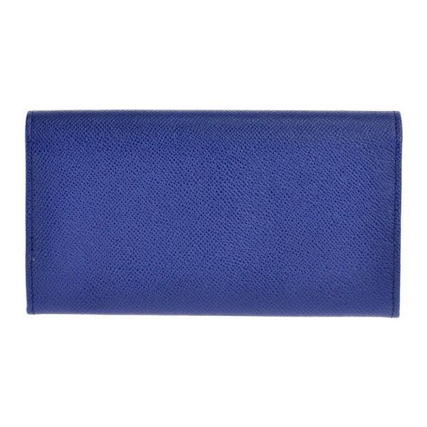 ブルガリ BVLGARI 財布 長財布 二つ折り長財布 36317 ブルガリブルガリ ロゴクリップ BLUE DAHLIA ブルー salada-bowl 03