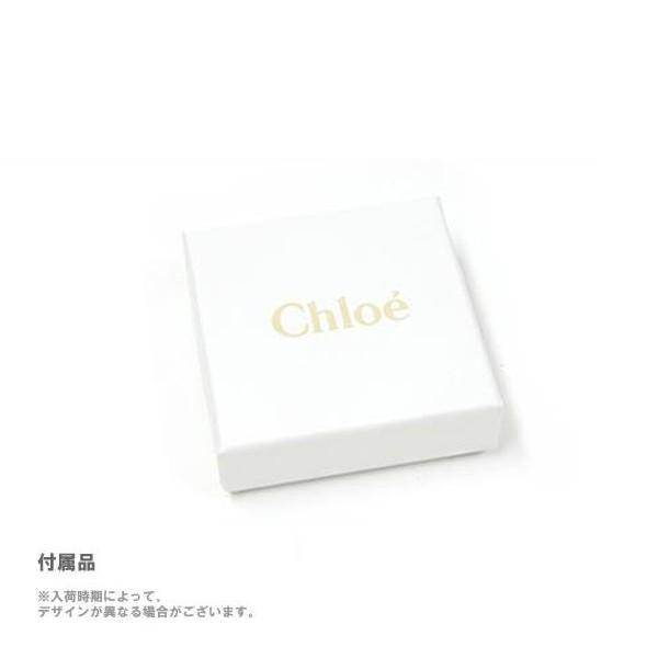クロエ Chloe ピアス 2E0519 42Z リボンモチーフ FARRAH ピンクベージュ系
