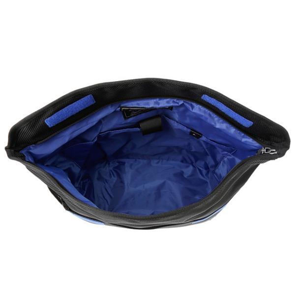 ディーゼル DIESEL バッグ X04326 PR027 T8013 メッセンジャーバッグ 斜めがけバッグ BLACK ブラック+ブルー