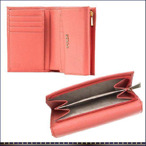 5f18f4a6b26f ... フルラ 財布 新作 FURLA CLASSIC サフィアーノレザー 三つ折り財布 レディース ブランド サイフ 本革 ピンク