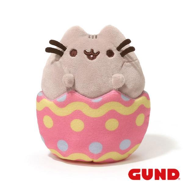 ガンド GUND プシーン キャット イースターエッグ ぬいぐるみ グレー 4048885 新品 ギフト プレゼント 猫 生誕祭 誕生日 子供 3歳