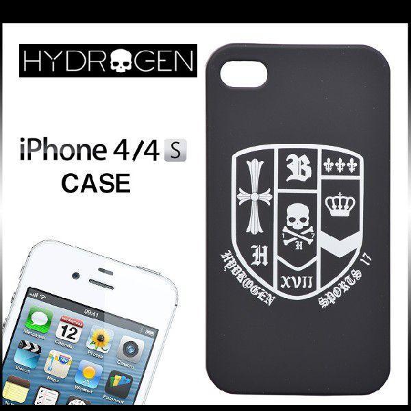 bffa394dc6 ハイドロゲン iPhone4 ケース iphone4s ケース HYDROGEN アイフォンケース ブランド iphone カバー スカル ドクロ  heralidc logo 紋章 ...