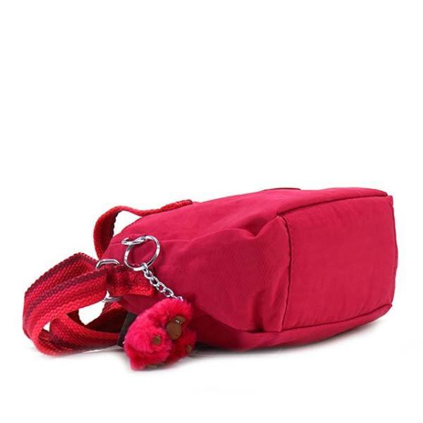 キプリング バッグ Kipling K12546 K77 LEIKE 2way 斜めがけショルダー ハンドバッグ ミニバッグ CHERRY PINK C ピンク