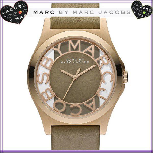 マーク バイ マーク ジェイコブス 腕時計 レディース メンズ Ladies MARC BY MARC JACOBS ブランド ユニセックスで使えるデカフェイス|salada-bowl