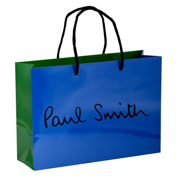 ポールスミス ショップ袋 手持ちつきショップ袋 ラッピング ショッパー ブランド 使い道 紙袋 リメイク 収納 ポーチ 20代 30代 40代 50代 プレゼント ギフト
