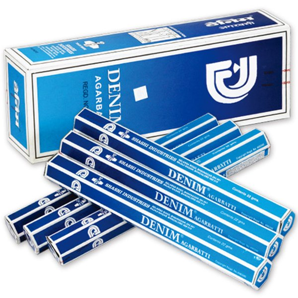 シャシ SHASHI スティック DENIM デニム 1ケース 6箱入り 約120本 セット エコノミー