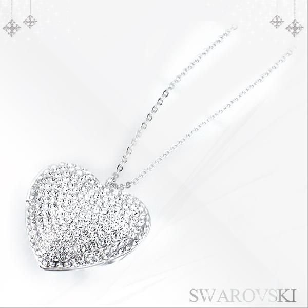 swarovski swarovski nostalgia heart locket pendant 1082387 mozeypictures Gallery