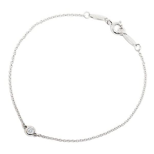 ティファニー Tiffany & Co.ダイヤモンド バイ ザ ヤード ブレスレット 0.05ct 7in24944352