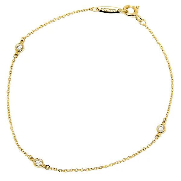 ティファニー Tiffany & Co.  ダイヤモンド バイ ザ ヤード ブレスレット 7in 18Y 10769019