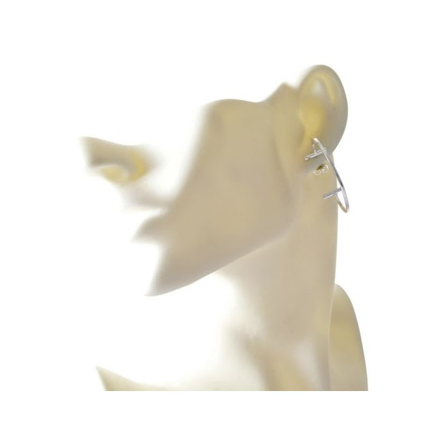 ティファニー TIFFANY&CO 35093699 ティファニー T ワイヤー フープ ピアス ラージ スターリングシルバー925 新品|salada-bowl|03