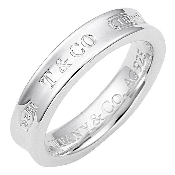TIFFANY&CO ティファニー 指輪 リング 1837 ナローベーシックリング レディース 人気 シルバー アクセサリー