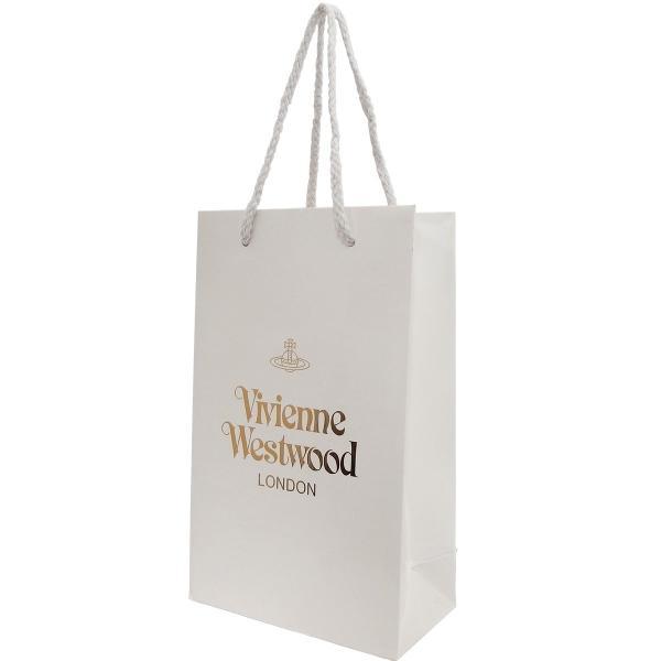 ヴィヴィアン ウエストウッド Vivienne Westwood ショップ袋 ショッパー 1枚 Aセット ホワイト 白 縦型 サブバッグ ラッピング 10代 20代 30代 40代 50代 60代