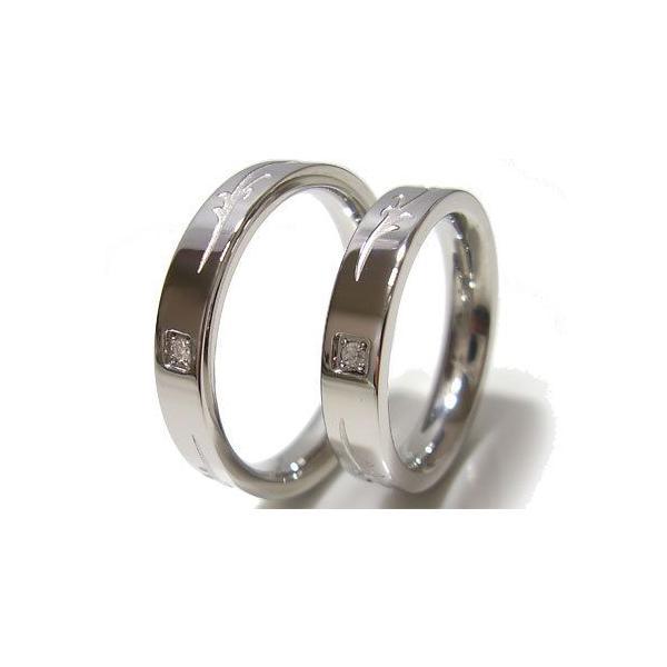 ペアアダマスステンレスダイヤモンドリング/ペアステンレスアクセサリー/プレゼント/ギフト/おすすめ/アクセサリー/SteelAdamas|sales|02