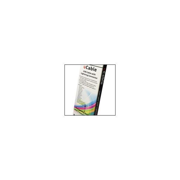 Salom uCable Apple 8pin MFI認証ライトニングケーブルBlack ブラック|salomjapan|03