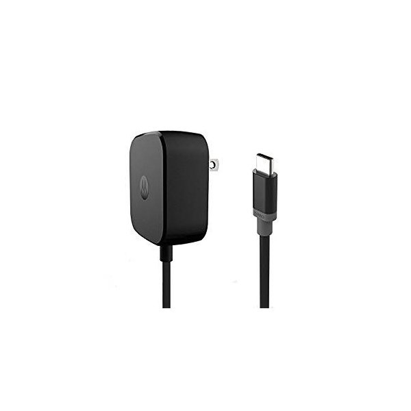【予約販売】モトローラMotorola スマホ、タブレット充電器TurboPower 15 USB-C  17W 5V/3.4A 1.53m USB-C cable black ブラック|salomjapan