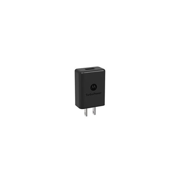 【予約販売】モトローラMotorola スマホ、タブレット充電器TurboPower15  15W (5V/3A 9V/1.6 12V/1.2A) QC3.0 USB-A black ブラック|salomjapan|02