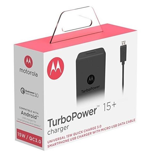 【予約販売】モトローラMotorola スマホ、タブレット充電器TurboPower15  15W (5V/3A 9V/1.6 12V/1.2A) QC3.0 USB-A black ブラック|salomjapan|05