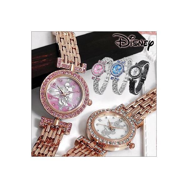腕時計 ディズニー ミニー レディース スワロフスキー ジュエリー ウォッチ Disney disney_y