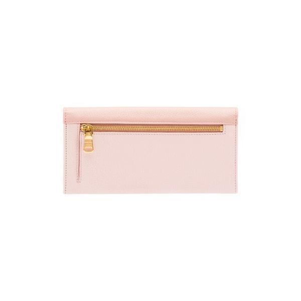 ミュウミュウ  リボン付き 二つ折 長財布 5MH109 2EW7 F0JW1 ピンク salon-de-miel 02
