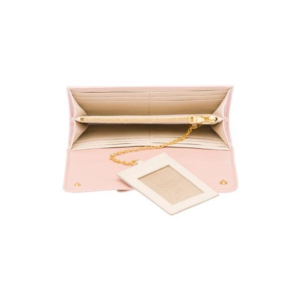 ミュウミュウ  リボン付き 二つ折 長財布 5MH109 2EW7 F0JW1 ピンク salon-de-miel 03
