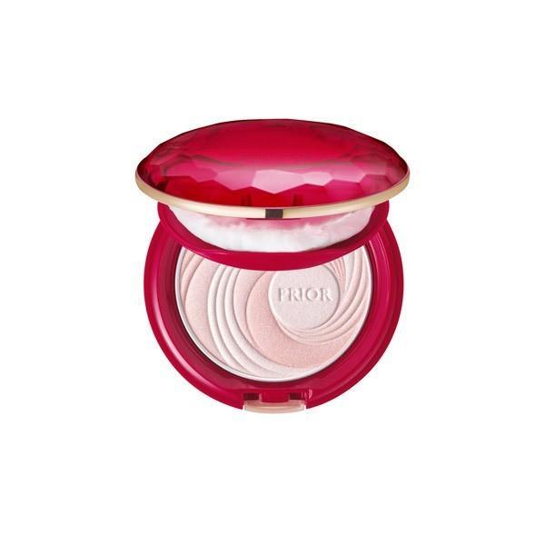 資生堂 SHISEIDO プリオール Prior 美つやアップおしろい ピンク 【ネコポス対応商品】   salon-de-miel