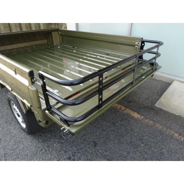ベッドエクステンダー カーゴゲート 軽トラック ハイゼット キャリー ミニキャブ サンバー クリッパー スクラム samuraipick 02