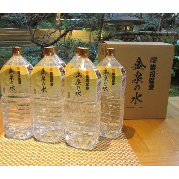 金泉の水 猿投温泉  飲める天然温泉水 2リットルペットボトル×6本 sanageonsen 08