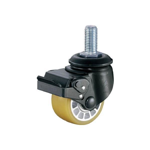 ハンマー 低床式重荷重用ねじ式SP付ウレタン車B入り65mmM20XP2.5