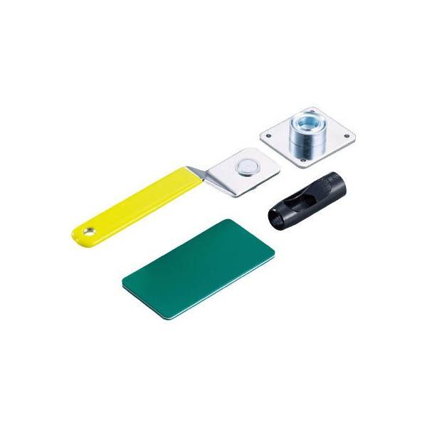 TRUSCO 両面ハトメパンチセットプラスチック用 10mm