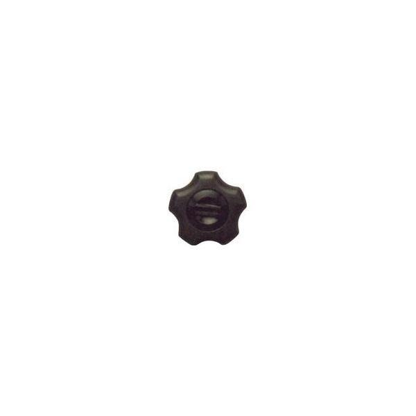 三星 フィットノブ M8 本体/黒 キャップ/黒 (5個入り)