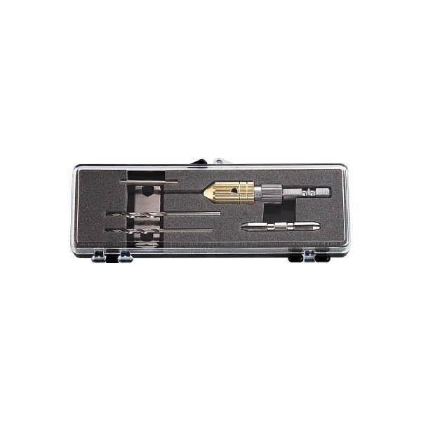 TRUSCO 電動用ピンバイス ドリルドリルセット 0.1−3.2mm