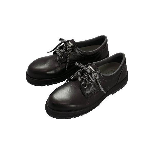 ミドリ安全 女性用ゴム2層底安全靴 LRT910ブラック 23cm