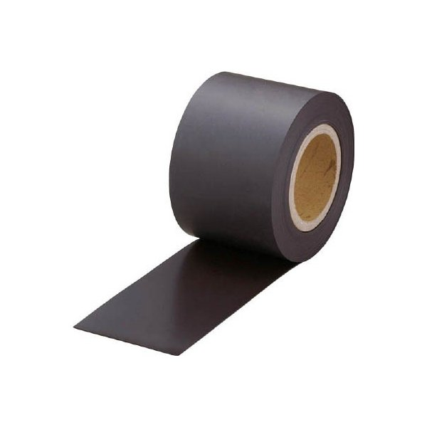 TRUSCO マグネットロール 糊なし t1.5mmX巾100mmX10m