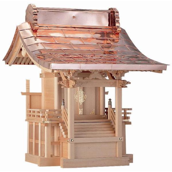 外宮 稲荷宮 流れ屋根 束立(つかだて)12  外祭宮 神棚 お社 神具 向拝宮 ほこら
