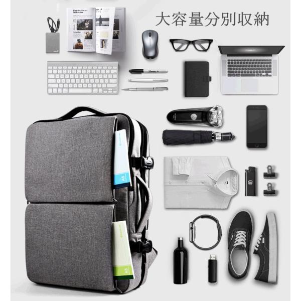 CAI ビジネスリュック リュック リュックサック メンズ バックパック 大容量 通勤 出張 通学 旅行 アウトドア おしゃれ ビジネスバッグ リュック HK-09099 sancai 11