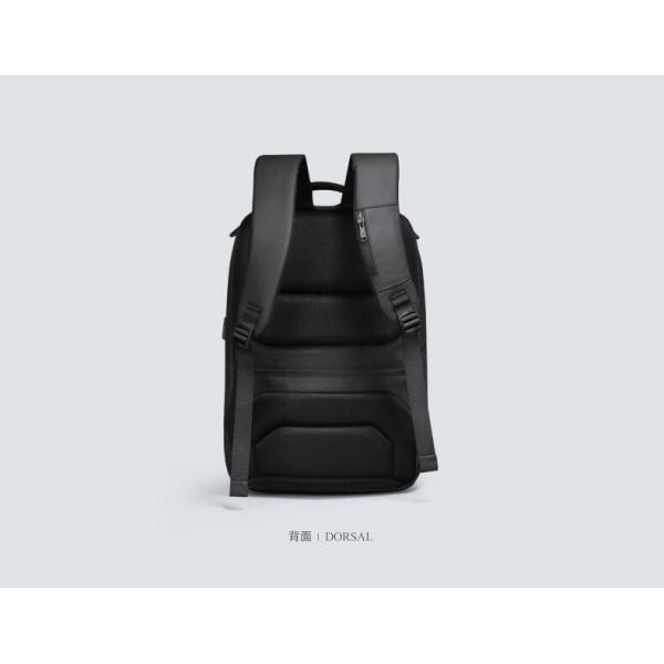 ビジネスリュック メンズ リュックサック ビジネスバッグ 撥水 バックパック 通学 通勤 出張 旅行 デイパック キャリーサポーター USB充電 AOKING SN77880|sancai|06