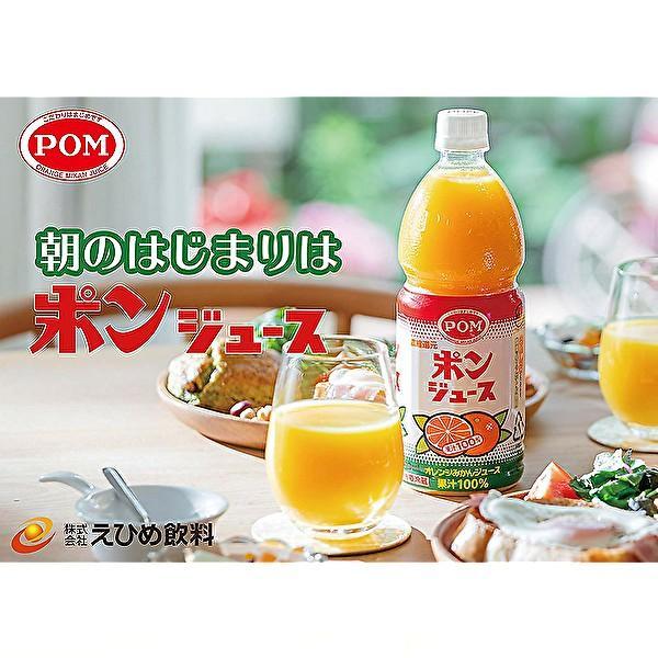 えひめ飲料 ポン ポンジュース 800mlPET×6本入 POM sanchoku-support 03