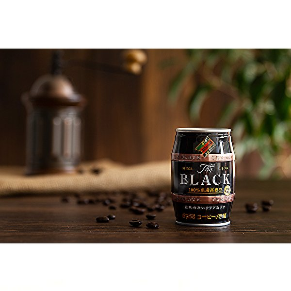 ダイドー ブレンド ブレンドブラック 樽 185g缶×24本入 DyDo Blend BLACK|sanchoku-support|02