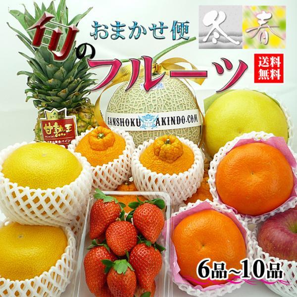 マスクメロン入り/特選四季のフルーツの詰め合わせA/お中元/お歳暮/果物ギフト【送料無料】