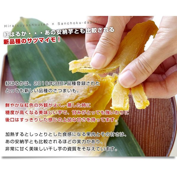 茨城県の干し芋工場より直送 茨城県 ほしいも 紅はるか 110g×4袋 送料無料|sanchokudayori|04