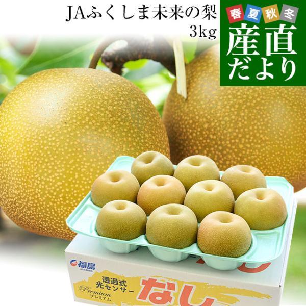 送料無料 福島県より産地直送 JAふくしま未来の梨 5キロ(10玉から16玉) なし ナシ sanchokudayori