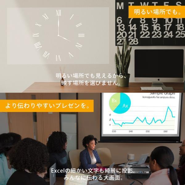 プロジェクター  高画質 3500ルーメン 高解像度 プロジェクタ 家庭用 モバイル スマホ iphone ビジネス 安い HDMI ケーブル付 本体 映画 FUNPLAY Plus FunLogy|sandlot-books|20