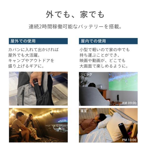 プロジェクター 小型 モバイルプロジェクター 本体 家庭用 ビジネス モバイル 天井 モバイル 安い iPhone スマホ Bluetooth Wi-Fi 高画質 DLP HDMI X-03 FunLogy sandlot-books 11