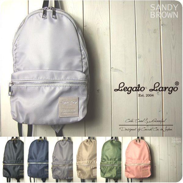 Legato Largo ボディバッグ レディース 撥水加工微光沢ナイロン 縦型 ボディバッグ レガートラルゴ|sandybrown