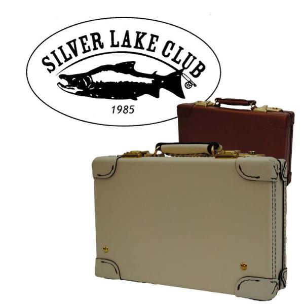 アタッシュケース  トランク  シルバーレイククラブ SILVER LAKE CLUB /オイルレザー/アタッシュケース28cm 130252
