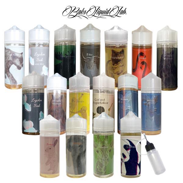 電子タバコ リキッド タバコ味 BaksLiquid Lab. バクスリキッド ラボ 大容量 100ml VAPE ベイプ 国産 タール ニコチン0 シラフシラズ
