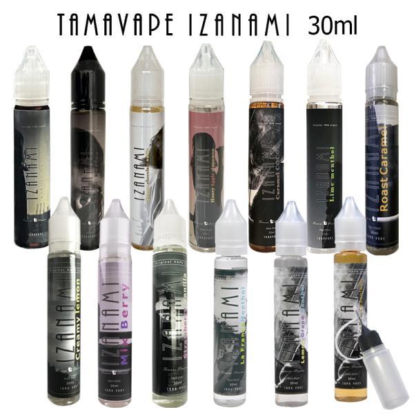 電子タバコ リキッド 国産 タール ニコチン0 TAMA VAPE IZANAMI ( タマベイプ イザナミ ) 30ml|sanesuline