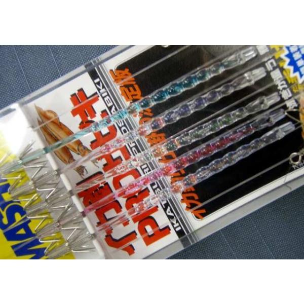 たまご針 11cm2段カンナ5本 大型ヤリイカ用 イカ釣り仕掛け ヤマシタ